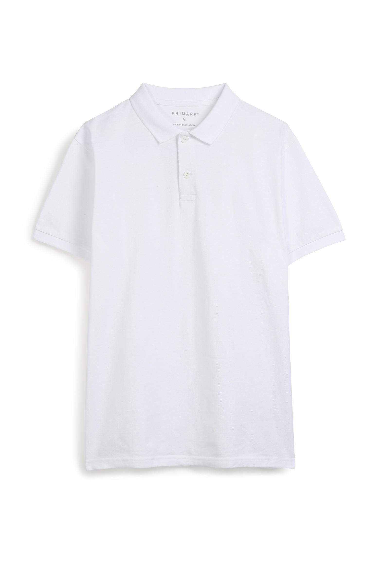 White Polo Top