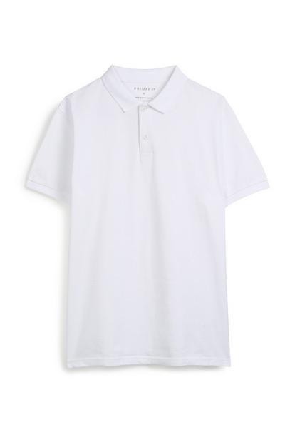 White Polo Top
