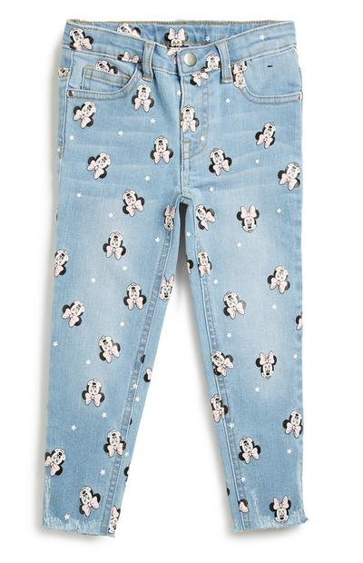 Older Girl Minnie Mouse Denim Jean