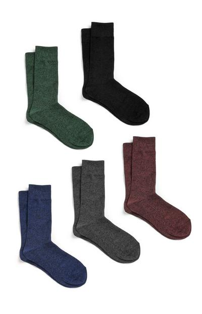 Cotton Socks 5Pk