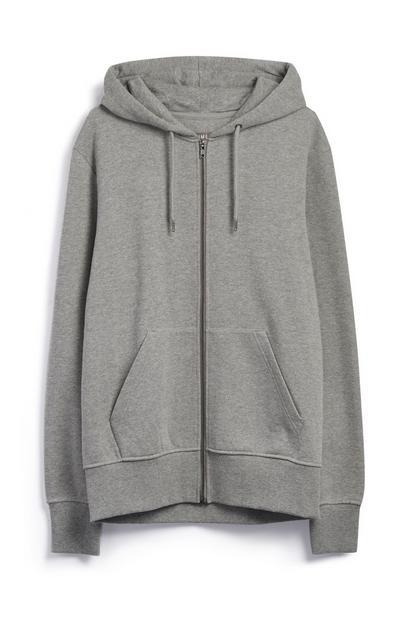 Grey Zip Hoody