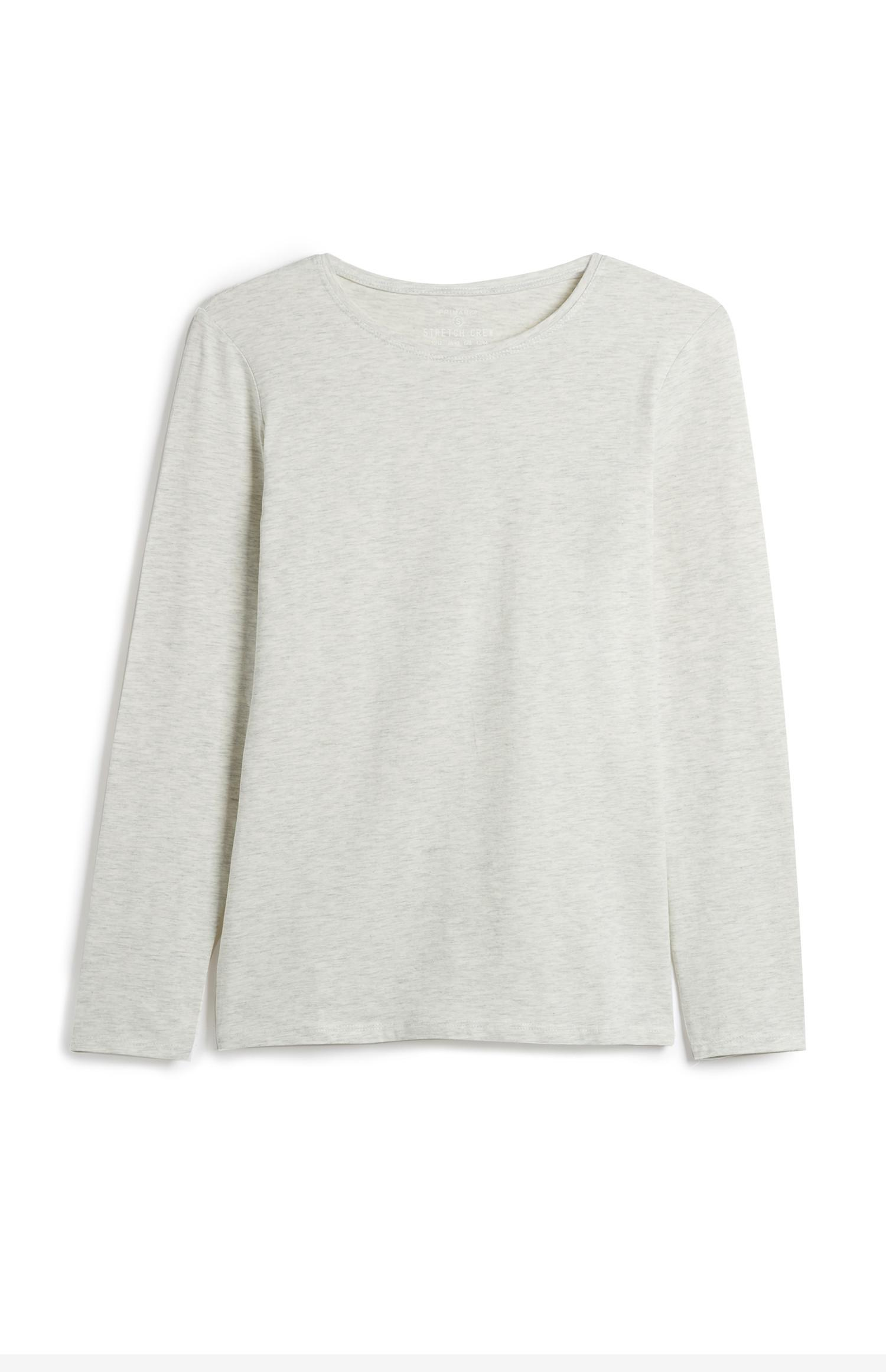 Oatmeal Long Sleeve Top
