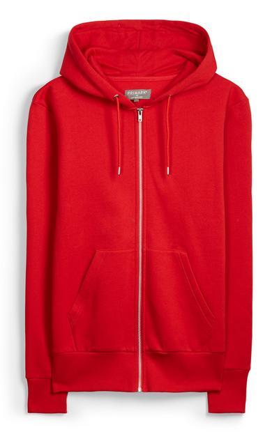 Red Zip Hoody