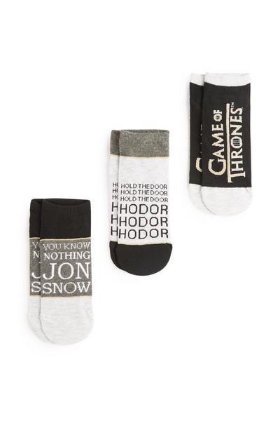 """""""Game of Thrones"""" Socken, 3er-Pack"""