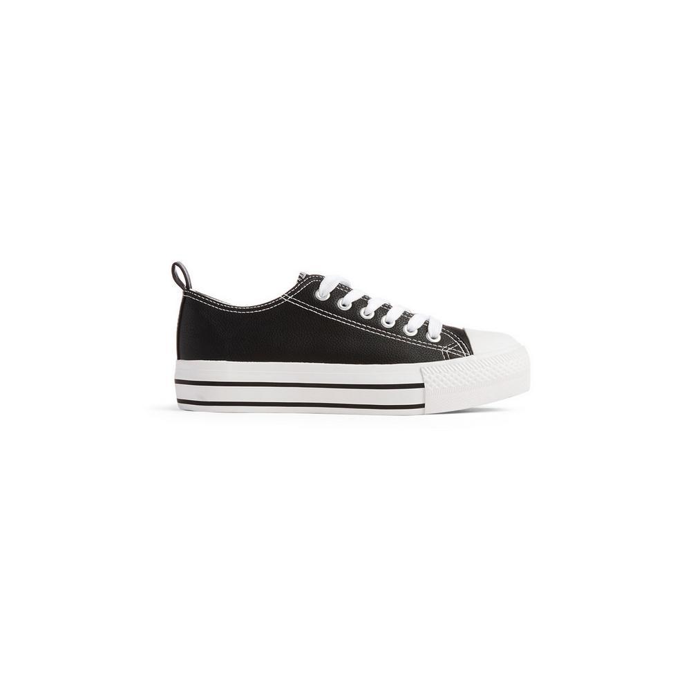 37bc085a Zapatillas negras con plataforma   Deportivas   Zapatos y botas   Mujer    Las categorías   Primark España