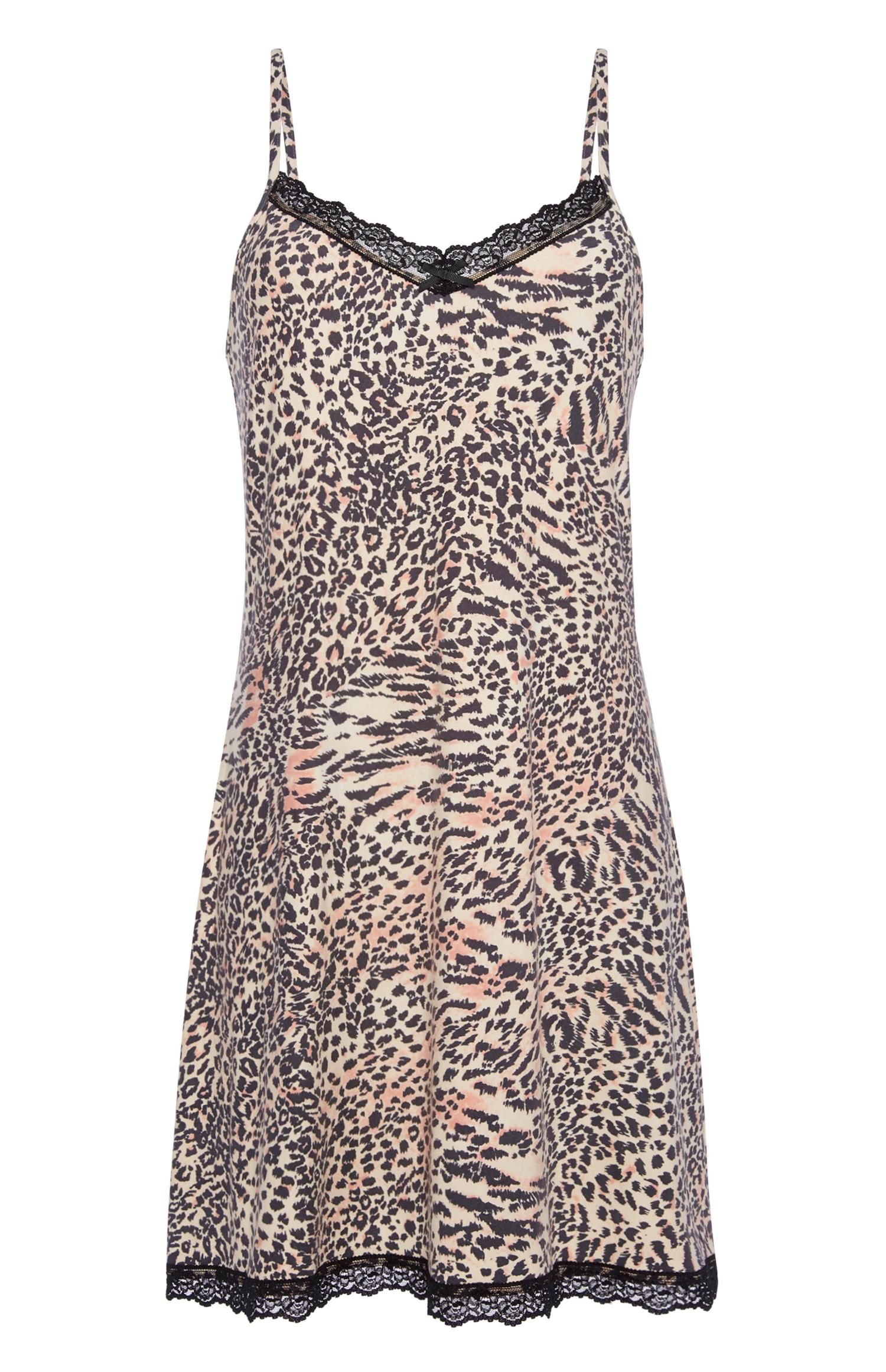 Leopard Print Chemise