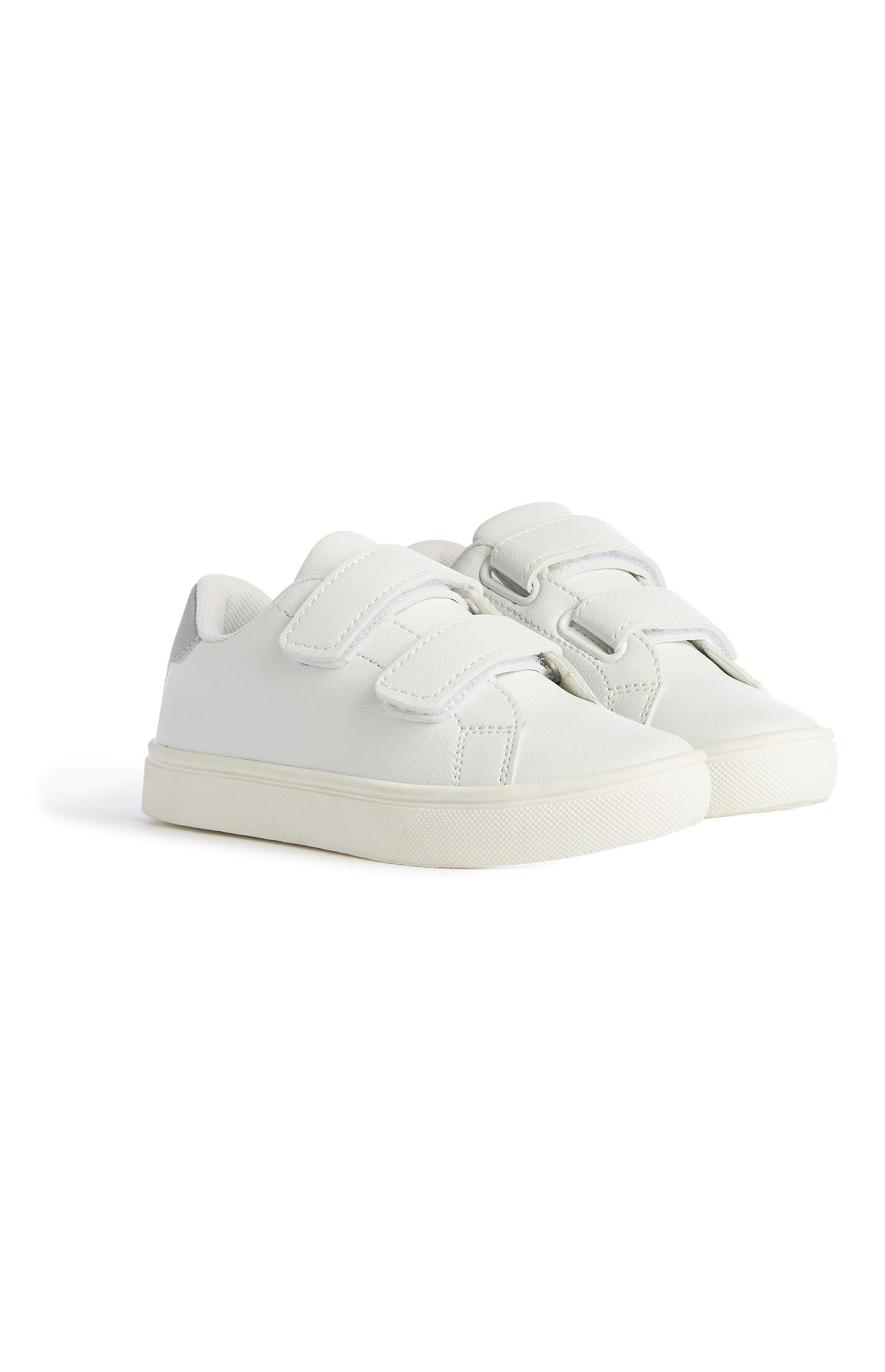 Younger Boy White Trainer