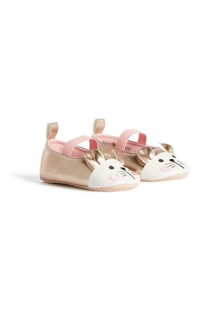 Baby Girl Mouse Ballerina Pump