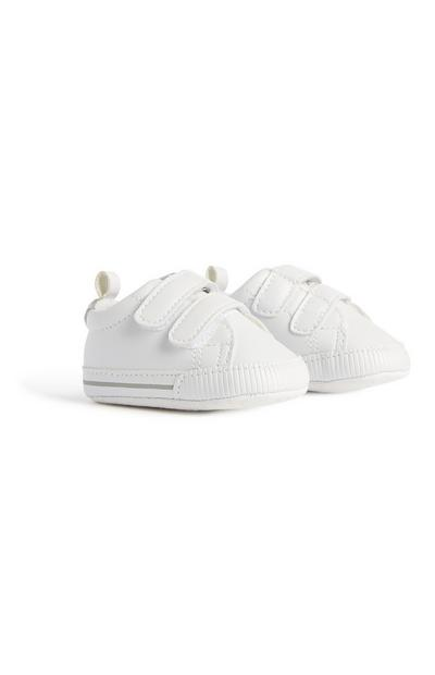 Baby Boy White Trainer