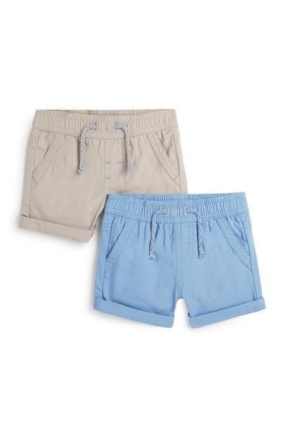 Shorts für Babys (J), 2er-Pack
