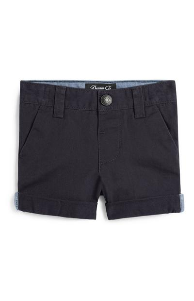 Baby Boy Navy Chino Short