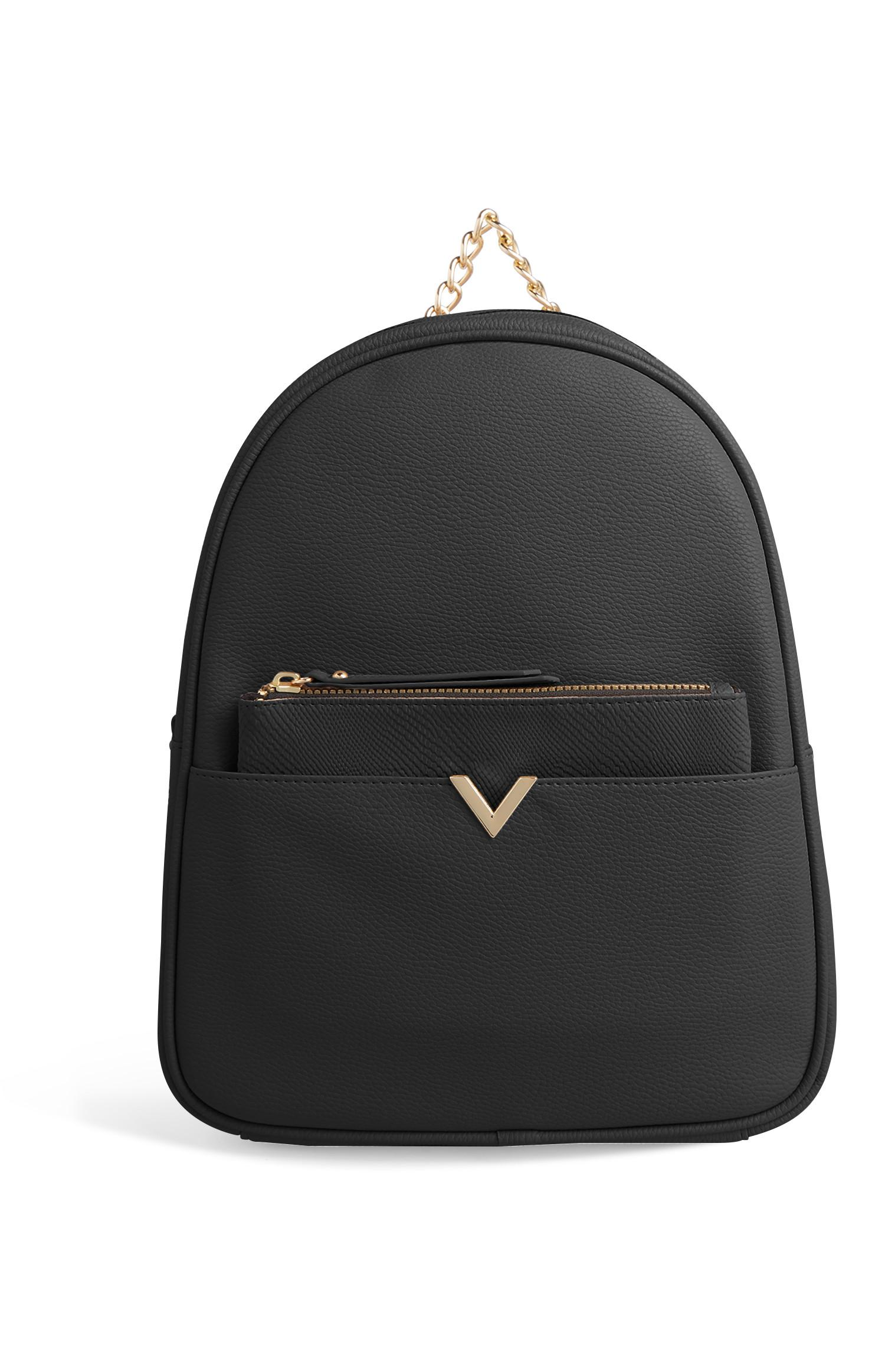 Black Backpack With Removable Purse