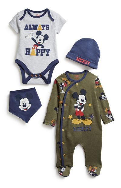 Mickey Newborn 4Pc Starter Set