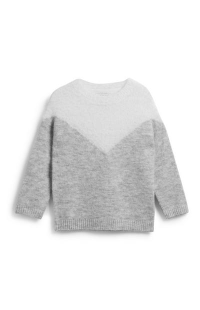 Younger Girl Chevron Jumper