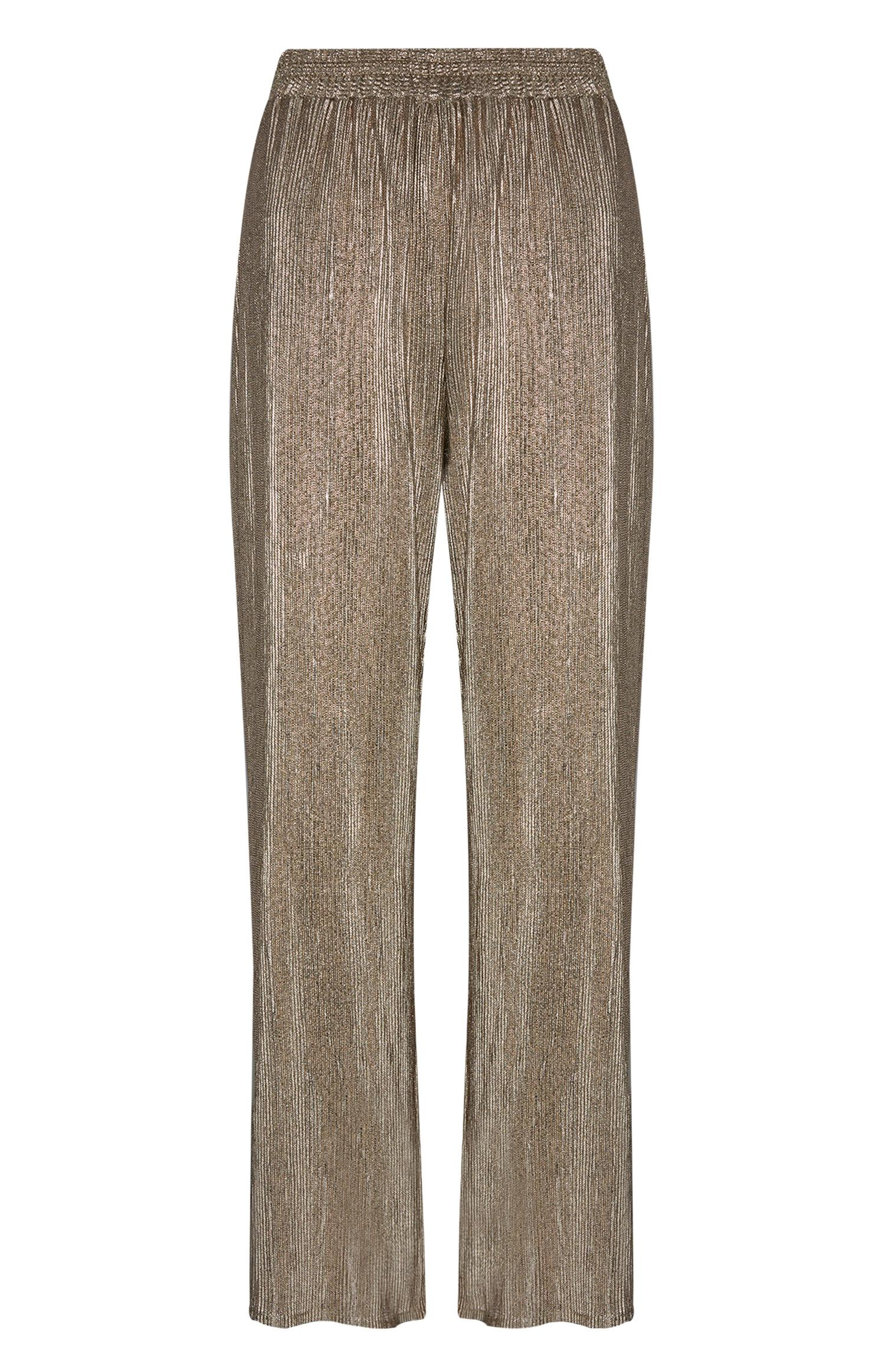 Gold Sparkle Trouser