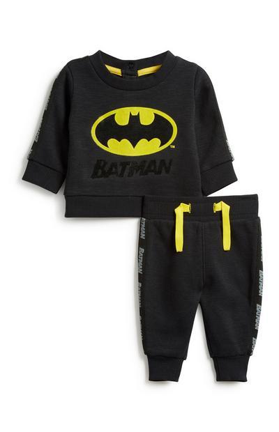 Baby Boy Batman 2Pc Outfit