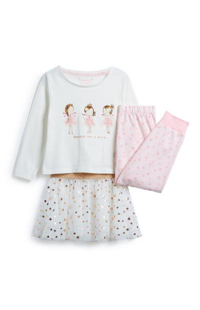 Girls 3Pc Outfit Set