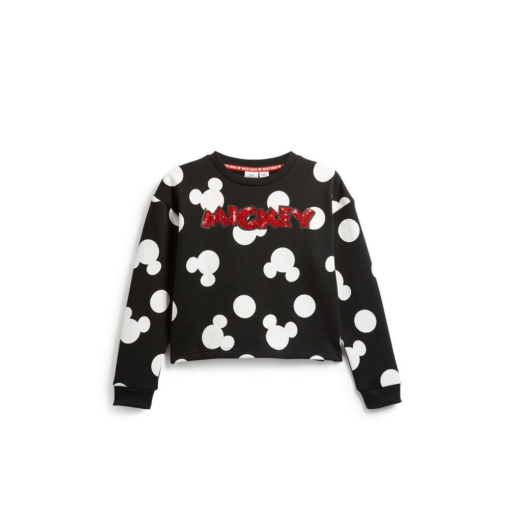 09afd9fde6 Older Girl Mickey Mouse Sweatshirt   GirlsWear   Kids   Categories ...