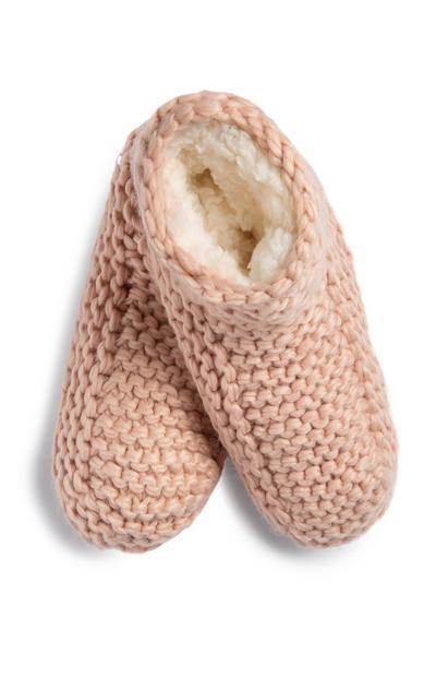 Chunky Knit Slipper