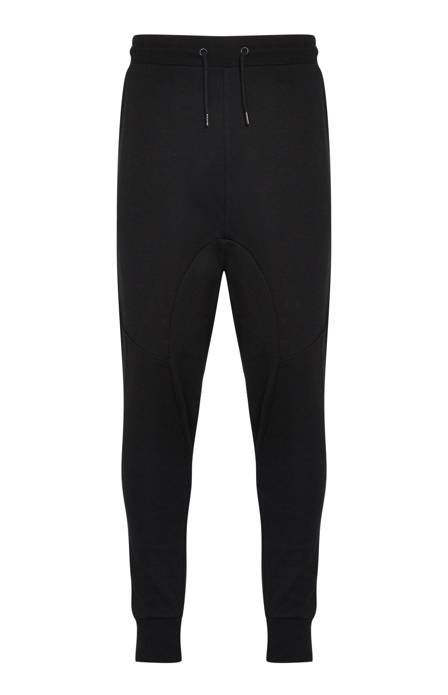 Pantalón de chándal ajustado negro