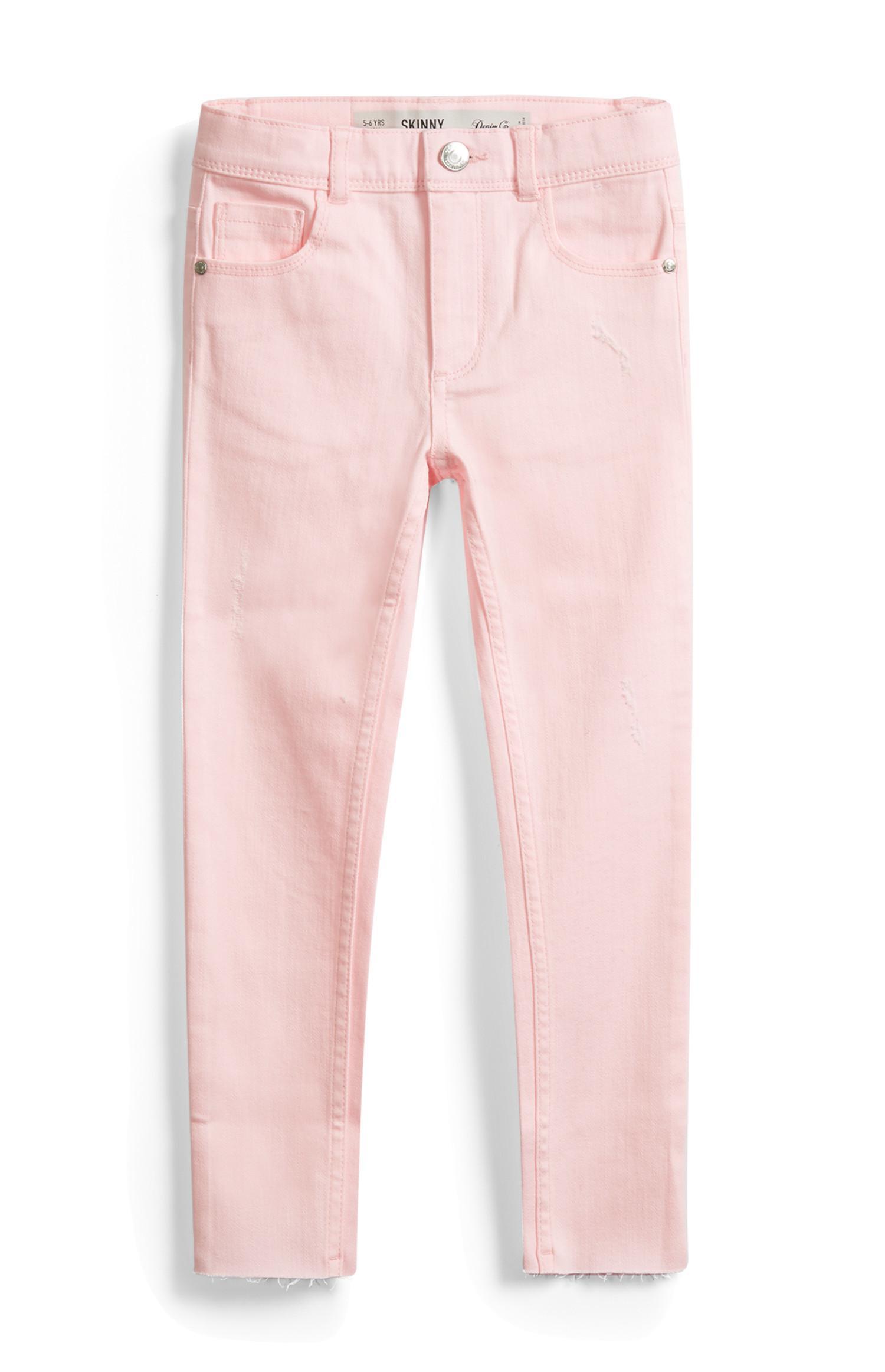 Jeans rosa da bambina