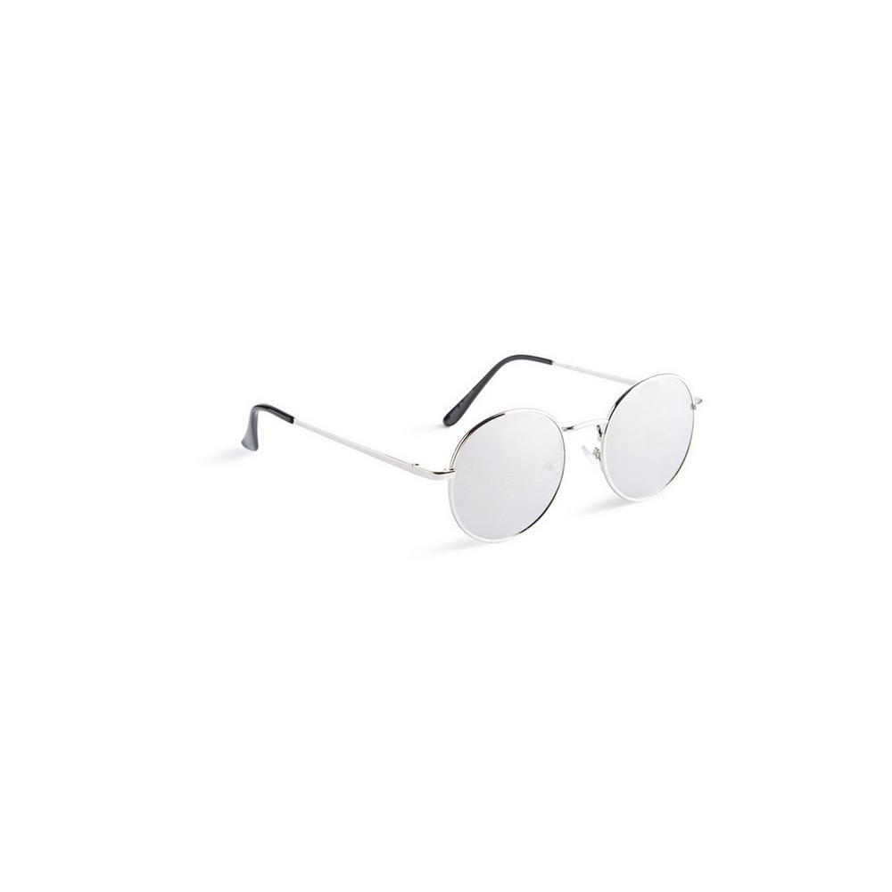 SunglassesAccessories SunglassesAccessories SunglassesAccessories Round Round Silver Round Silver Silver Round Mens Mens Mens Silver dQthCxsr