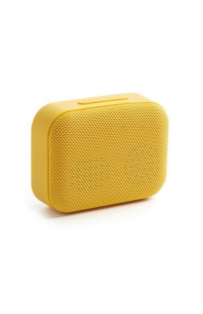Yellow Bluetooth Speaker