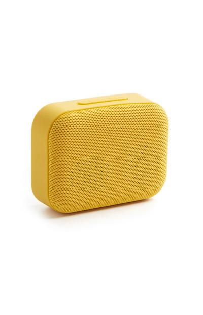 Yellow Bluetooth Speaker