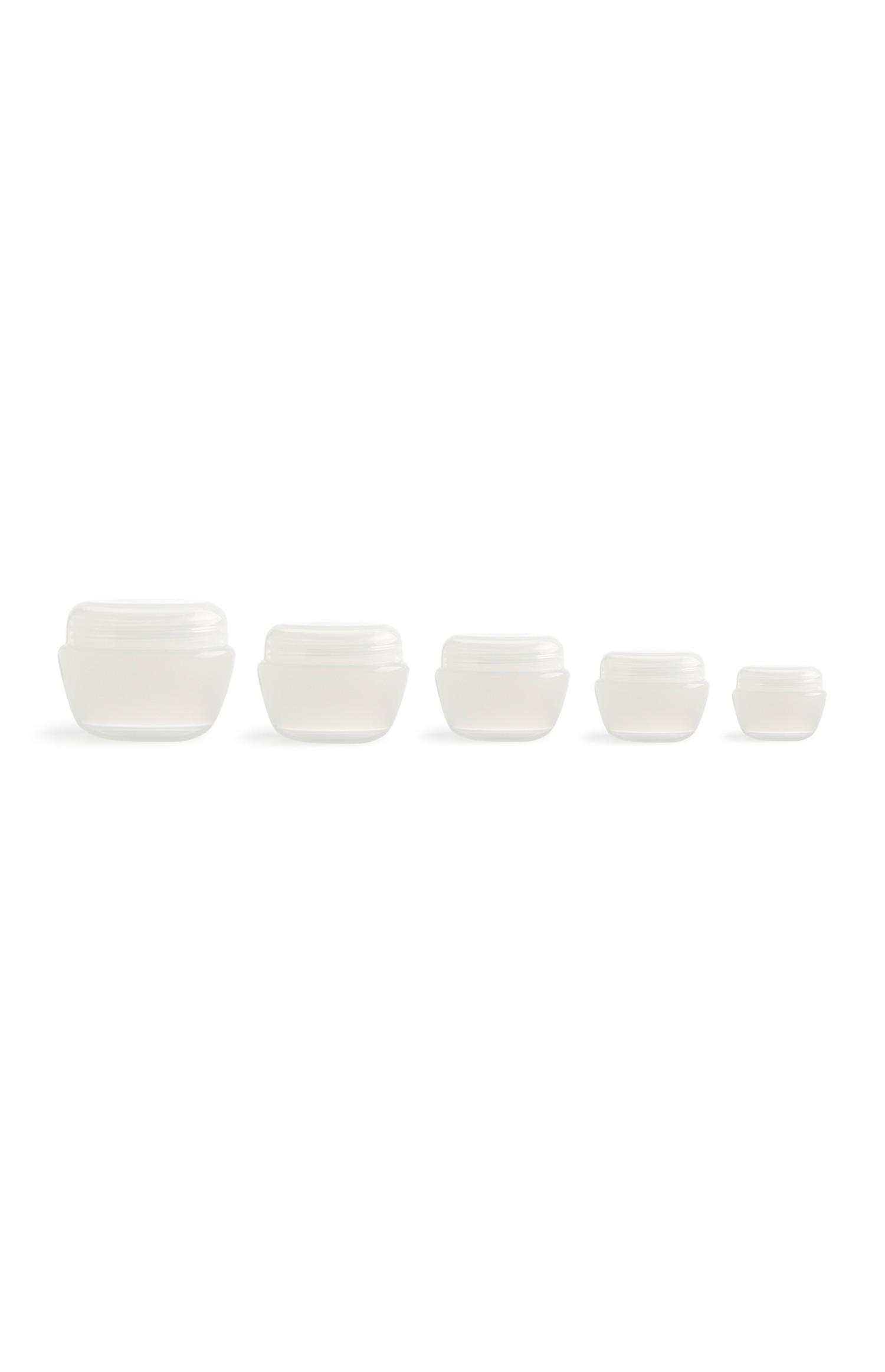 Cosmetic Jars 5Pk