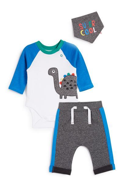 Newborn 3Pc Outfit Set