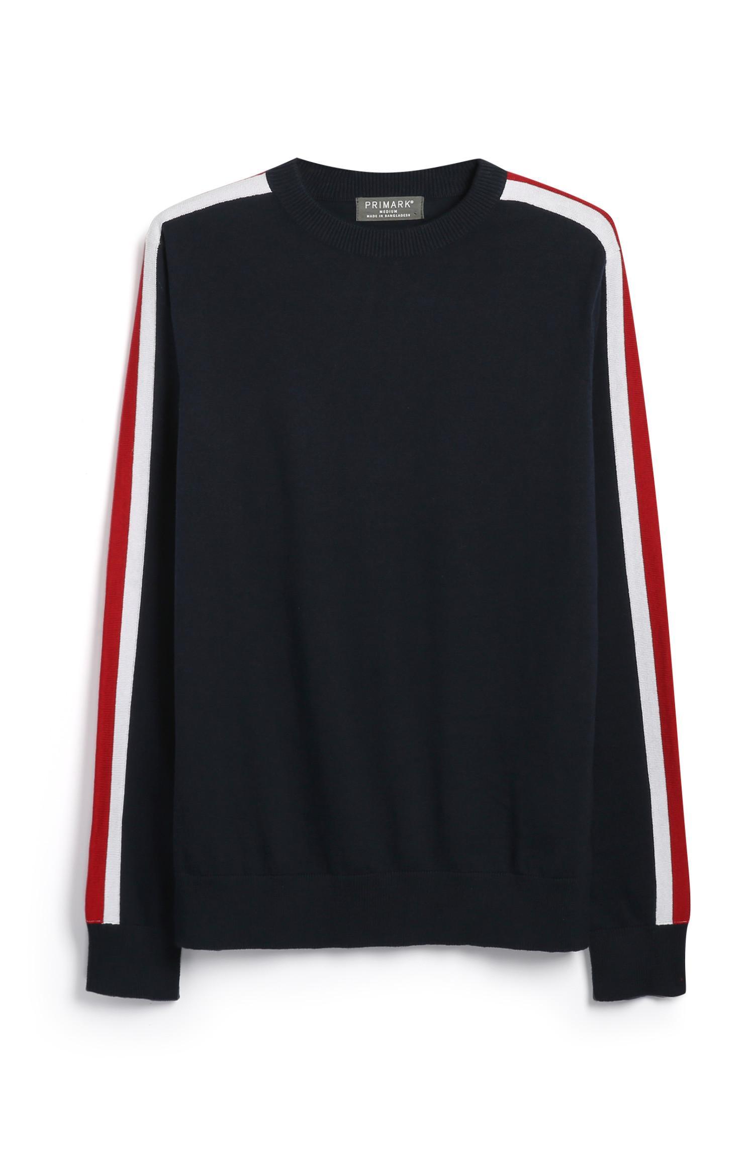 Pullover mit Seitenstreifen
