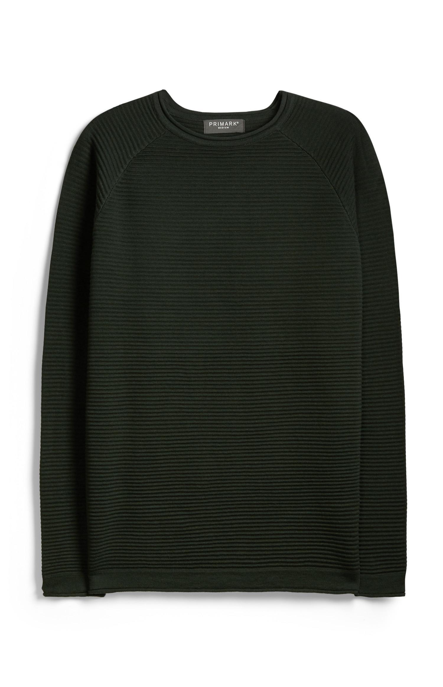Khakifarbener Pullover