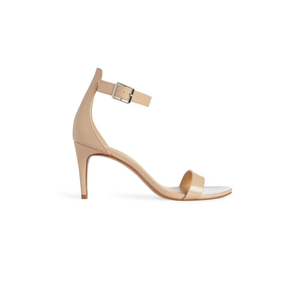 68afd5c598a Nude Strappy Sandal | Heels | Shoes & Boots | Womens | Categories ...