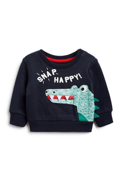Baby Boy Crocodile Sweatshirt
