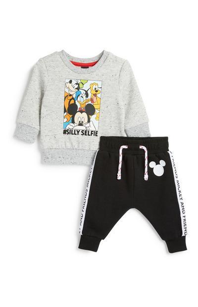 Baby Boy Mickey Mouse 2Pc Set