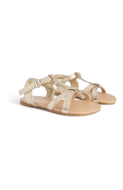 Younger Girl Gold Sandal