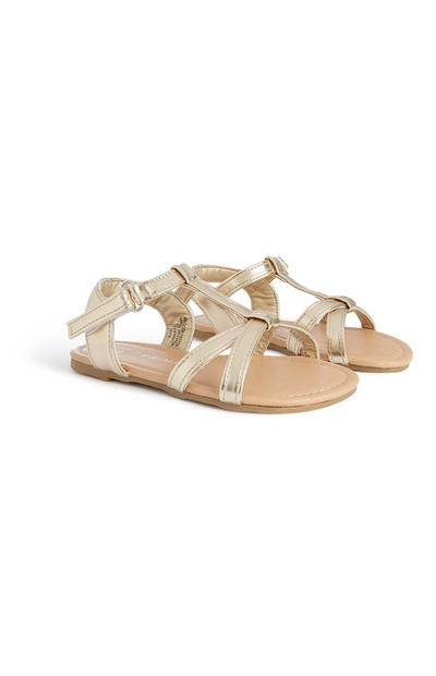 Younger Girl Gold Sandal