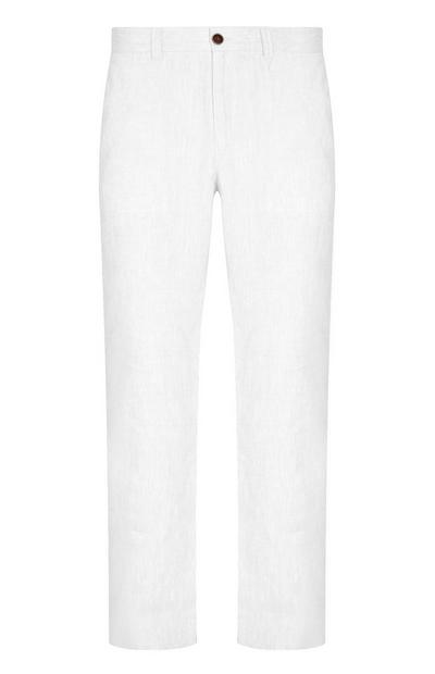 White Linen Trouser