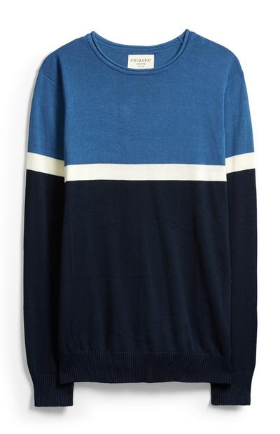 Blue Stripe Jumper