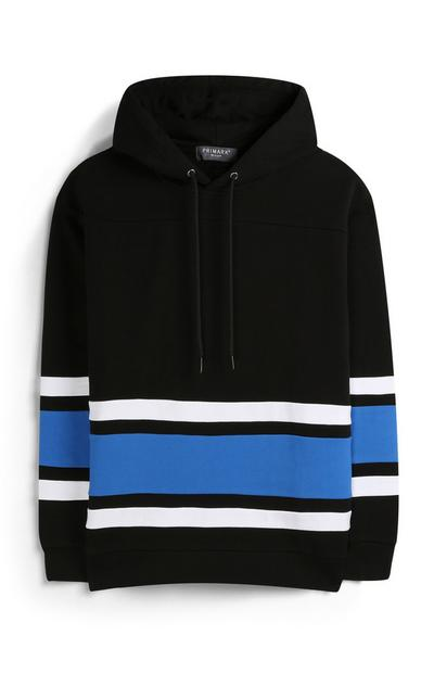 Black Stripe Hoody