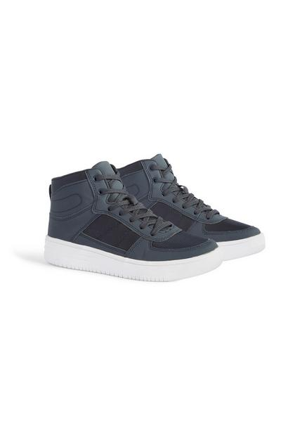 Older Boy High Top Trainer