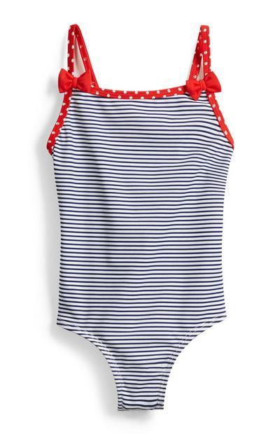 Baby Girl Stripe Swimsuit