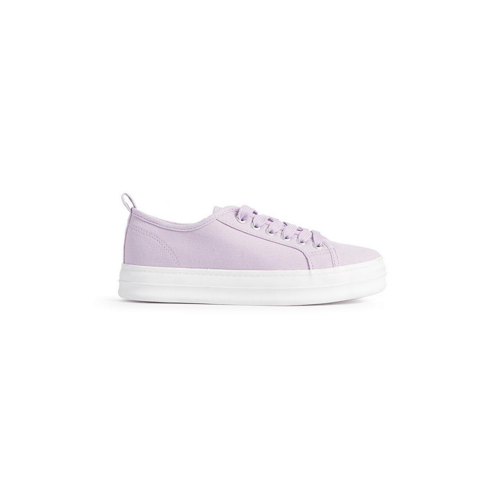 1a32b11b Zapatillas lila con plataforma   Zapatos y botas   Mujer   Las categorías    Primark España