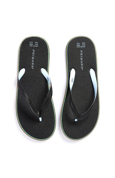 Black Flip Flops