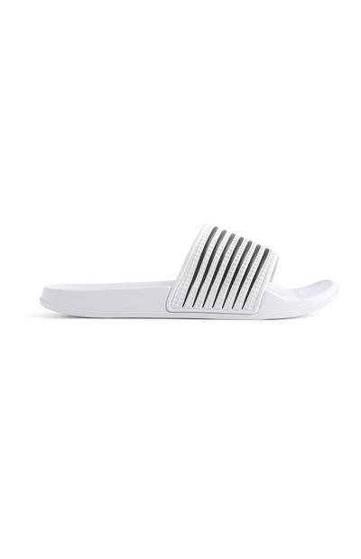 White Stripe Slider