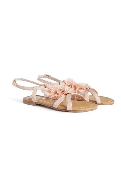 Younger Girl Flower Sandal