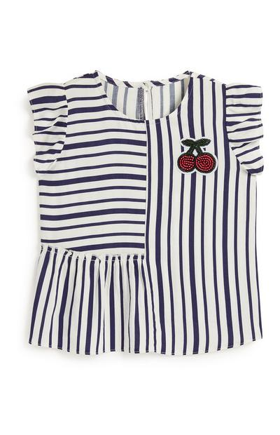 Younger Girl Stripe Blouse