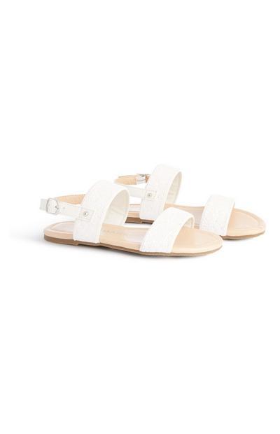 Older Girl Glitter Sandals