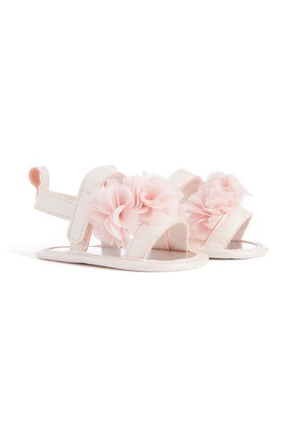 Baby Girl Pink Flower Sandal
