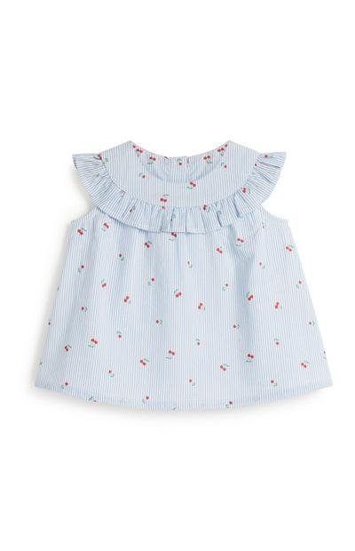 Baby Girl Cherry Blouse